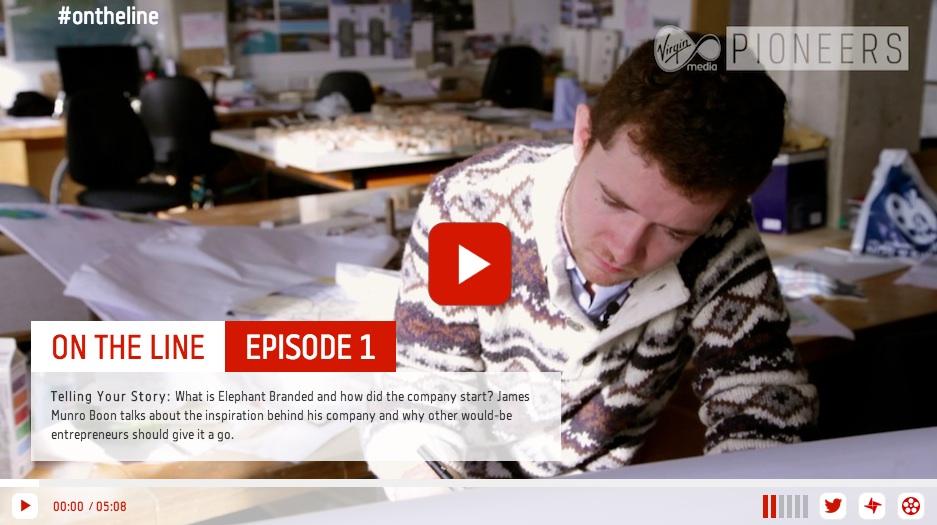 Storygami HTML5 Storytelling video web