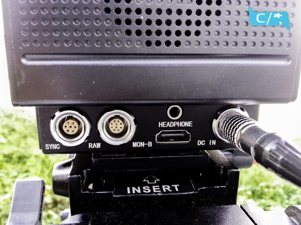 KineRAW Mini connectiqque