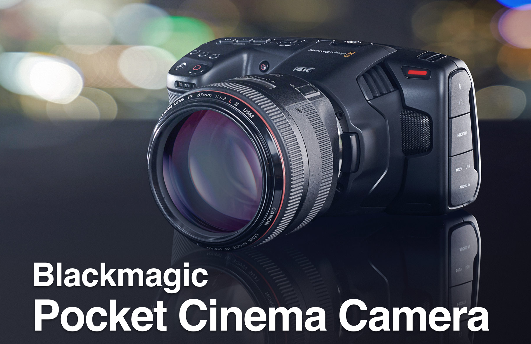Blackmagic Design S35 Pocket Cinema Camera 6K